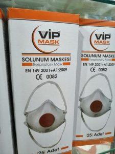 vip Mask Ffp2 Ventilli Maske